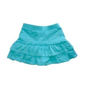 J. Khaki Ruffled Skort Girl Size 5